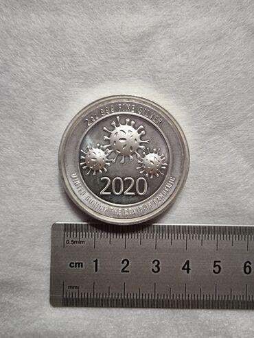 Спорт и хобби - Кант: ПРОДАЮТСЯ!!!Монеты из серебра США, 999 пробы, 1-2 унции. ЦЕНА: 1 унция