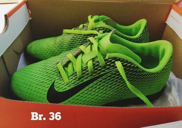 Patike za fudbal - Srbija: Nike patike za fudbal, original, broj 36, u dobrom stanju