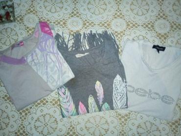 I tri majice - Srbija: Tri majice ocuvane velicina 12. Sve za 300 din