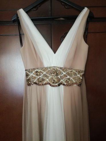 Prelepa svečana haljina u stilu grčkih boginja.Nošena jedanput.Broj 38 - Belgrade