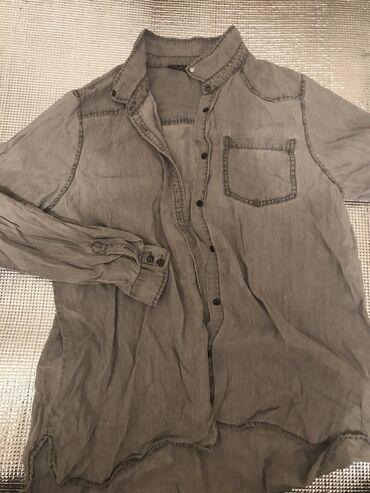 Sela Рубашка блузка просто лежит Не ношенный тк размер слишком большой