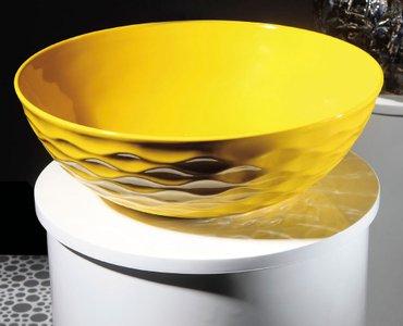 Раковина фигурная керамическая Мелана. MLN-T4010-B6 Размеры : в Бишкек