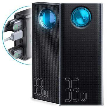 зарядное 5v в Азербайджан: Baseus power bankı, 30000 mAh. 33 W.Baseus 33W quick chargerPD3.0+