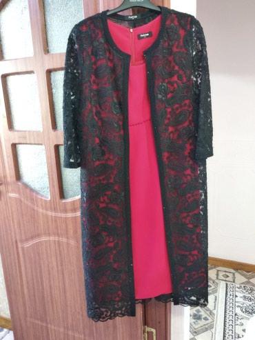 Покупали за 11000. Двойка платье с накидкой. Турция.  в Бишкек - фото 4