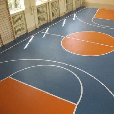 Спортивный линолеум Grabo Start Basic Plus  Экономичное решение для не