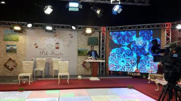 Bakı şəhərində Çəkiliş Pavilyonu .Müxtəlif tv proqramları , kliplər və s