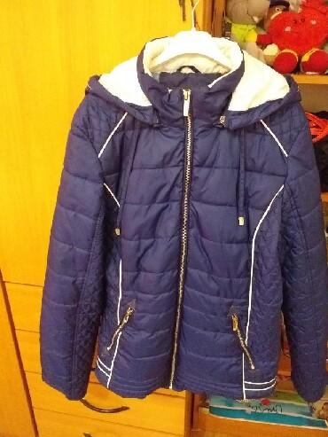 Jesenja-zenska-suskava-jaknica-broj-pisite-inox - Srbija: Zenska jesenja jakna ocuvana,vel.2xl.Cena 1500