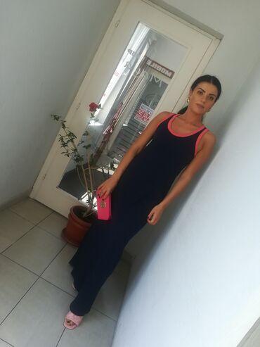Prelepa haljina pamuk elastin vel S MSuper model i kvalitet uvoz