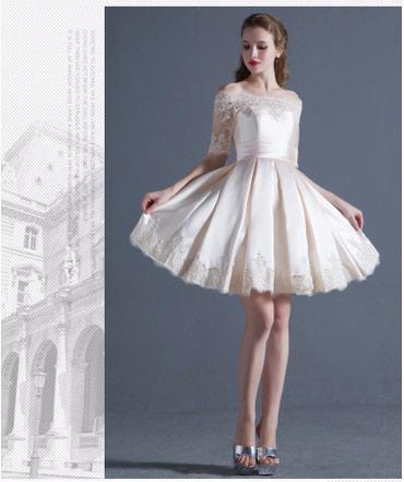 Продаю новое свадебное платье! Отличное качество! Размер S(42) в Бишкек