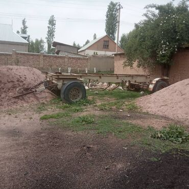 прицепы в Кыргызстан: Прицеп сатылат кузову жок, дышло евро, баасы 80мин