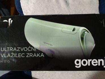 Aparat-za-pritisak - Srbija: Ultrazvucni aparat za vlazenje vazduha marke Gorenje.Ocuvan