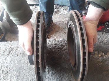 расточка тормозного диска в Кыргызстан: Лексус ls460 задние тормозные диски