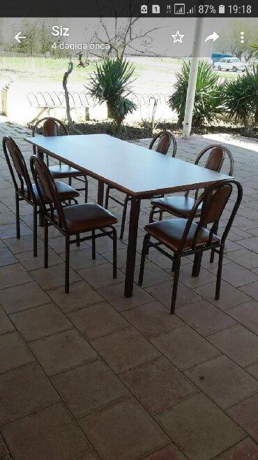 kafe ucun stol stul - Azərbaycan: Stol stul desti Kafe Restoran ücün cox dözumludir
