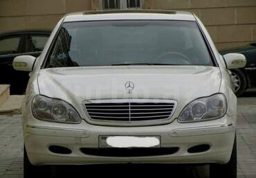 Avtomobillər - Gəncə: Mercedes-Benz S 320 3.2 l. 2001 | 270000 km