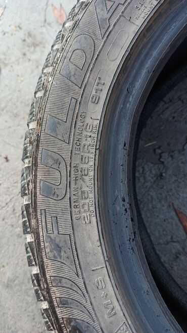 шины 205 55 r16 в Кыргызстан: Шины Montero 205 55 r16 M+S 2ШТ в хорошем состоянии. What's app