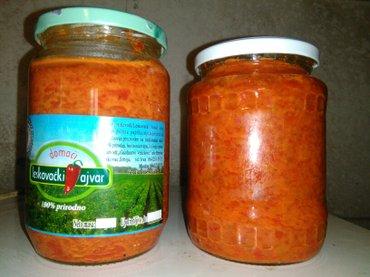 Leskovacki domaci ajvar od pecenih paprika,blagi i ljuti,vrhunski kval in Leskovac