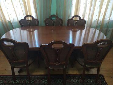 Dest stol stul. 8eded oturacaq stullar