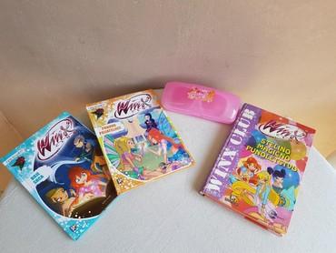 WINX CLUB knjige i naočare. Knjige su izdavačke kuće EVRO GIUNTI. - Negotin