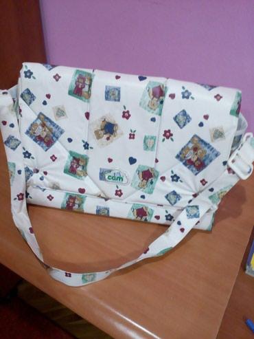 Zenska torba za bebine stvari, marke CAM. Kvalitetna i originalna. - Novi Pazar