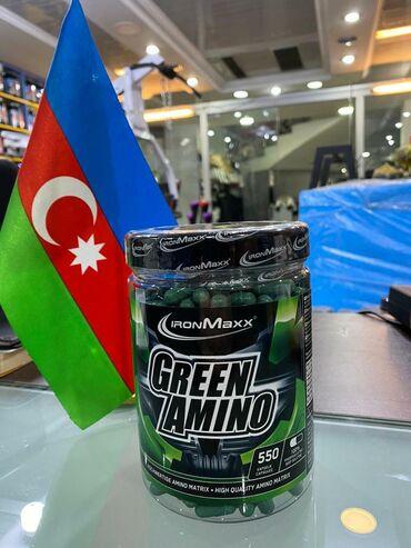 - Azərbaycan: Green Amino #amino #ironmaxxBcaaProteinGlutamineİdman qidası qidasi