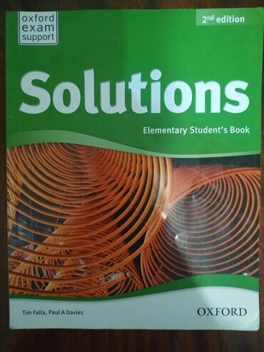 wexler book в Кыргызстан: Книга Oxford Solutions Book 2nd edition Elementary Students's Book