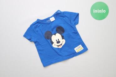 Топы и рубашки - Синий - Киев: Дитяча футболка з принтом Mickey Lc Waikiki, вік 3-6 міс., зріст 62-68
