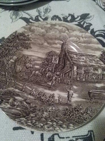 Tanjir sari engleski porcelan - Sombor