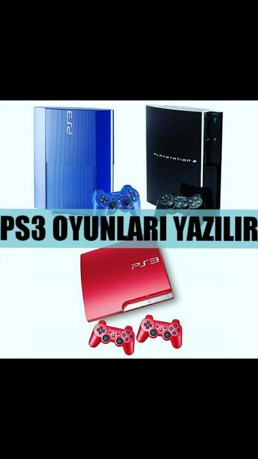 Bakı şəhərində PS3 ucun en yeni oyunlarin yazilmasi... 20 oyun cemi 10Azn... Oyunlar
