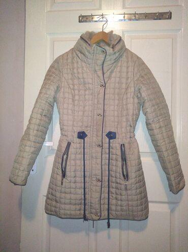 Duga zimska jakna - Srbija: Prelepa jakna za devojčice, vel. 13/14Pretopla zimska, duga jakna za