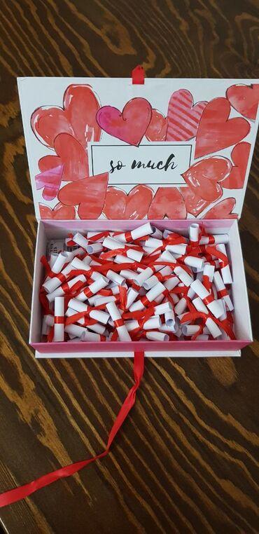 Оригинальный подарок для любимого человека! 100 причин почему тебя