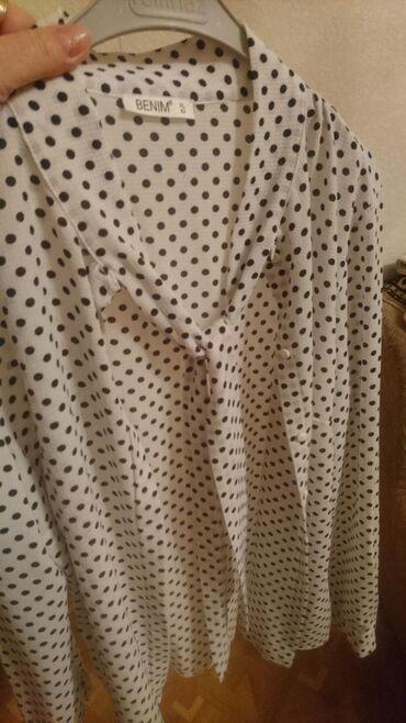 Блузка новая, Турция Рр 48 ткань Креп