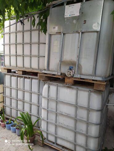 Баки и бочки - Кыргызстан: Бочки для любой жидкости, вместимость 1 тонна
