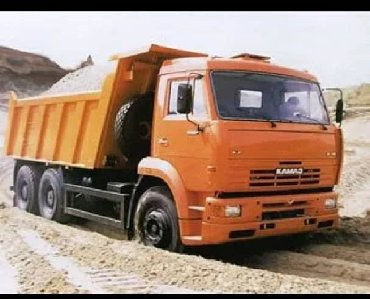 рваный камень бишкек в Кыргызстан: Отсев шебень смесь гравий глина камень песок гравий доставка Зил КамАЗ