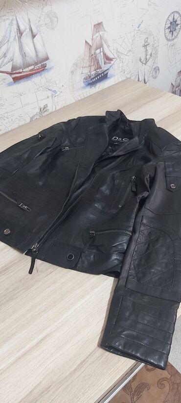 Кожаная куртка косуха dolce gabbana! Одевала один раз!
