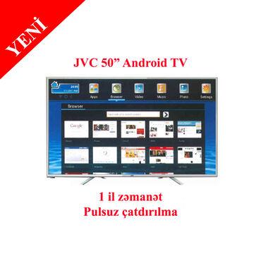 "usb led traka za tv - Azərbaycan: Televizor JVC HD Ready Android LED TV, 50"" - LT -"