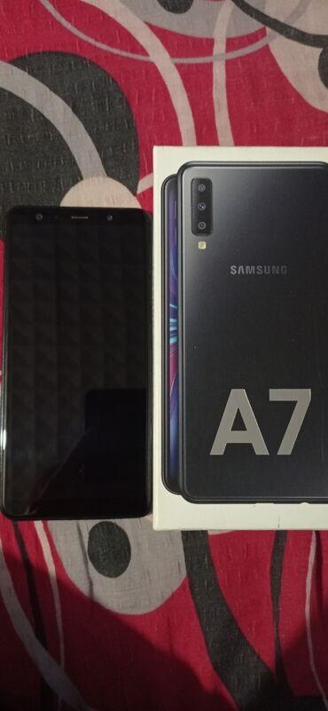 Crna haljinica vise - Srbija: Upotrebljen Samsung Galaxy A7 2018 64 GB crno