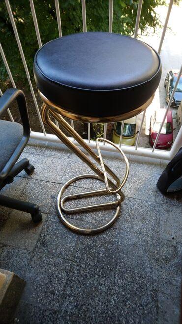 Frizerska stolica - Beograd: Barska stolica  34x81