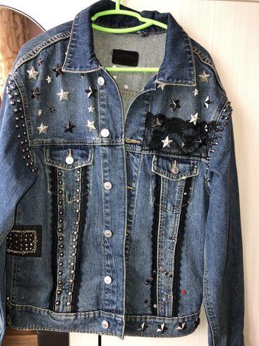 Куртка Zara оверсайз в отличном состоянии размер свободный подойдёт на