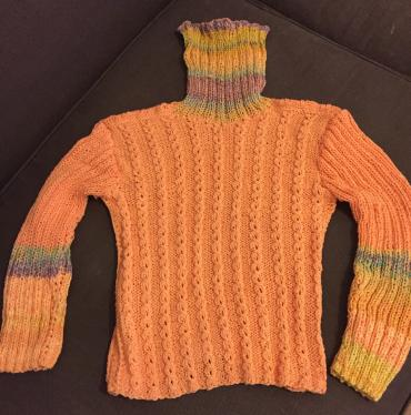 100% Cotton , hand made sweater . Size M  σε North & East Suburbs