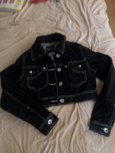 Kratka teksas jakna,ocuvana. U odlicnom stanju. Vel. S - Sokobanja