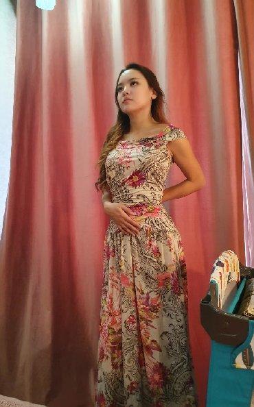 летнее платье трапеция в Кыргызстан: Продаётся. Лёгкое, летнее платье