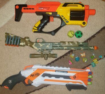 Продаю игрушки Nerf оригинал состояние отличное за всё 2000