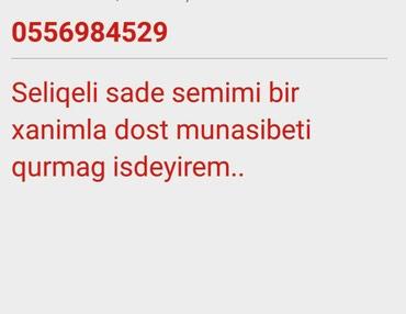 Bakı şəhərində Tel o