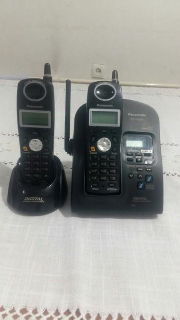 Телефон - Кыргызстан: Радиотелефон в рабочем состоянии, аккумуляторы новые, состояние
