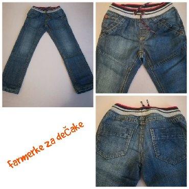 Pantalone flame moderno - Srbija: TROJE TERMO FARMERKI za dečake uzrasta id 5-6 godina. U paketu se nala