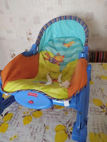 шезлонг для новорожденных в Кыргызстан: Шезлонг качелия
