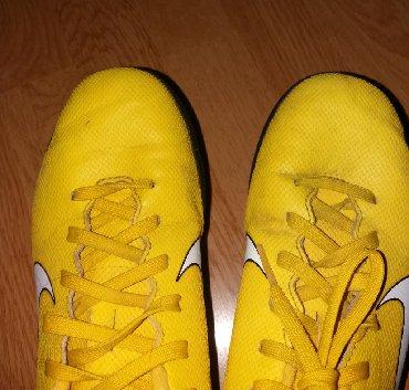 Dečije Cipele i Čizme | Leskovac: Nike decije betonke ocuvane, malo nosene. Velicina 37,5.U cm je 23,5