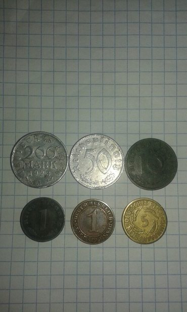 Продаю монеты третего рейха  в Токмак