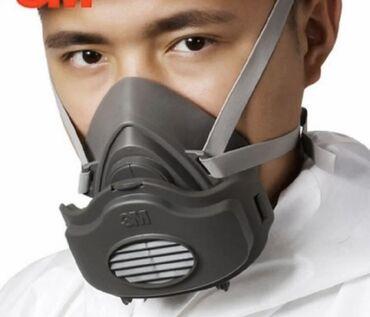 3M маски многоразовые, фильтры меняются можно докупить отдельно количе