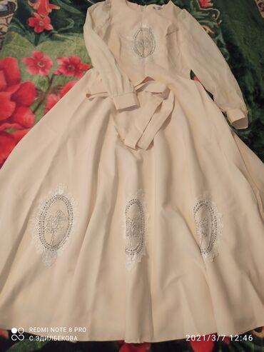 Продаётся платье, почти новое. Надевала 1 раз на кыз узатуу. Плотная